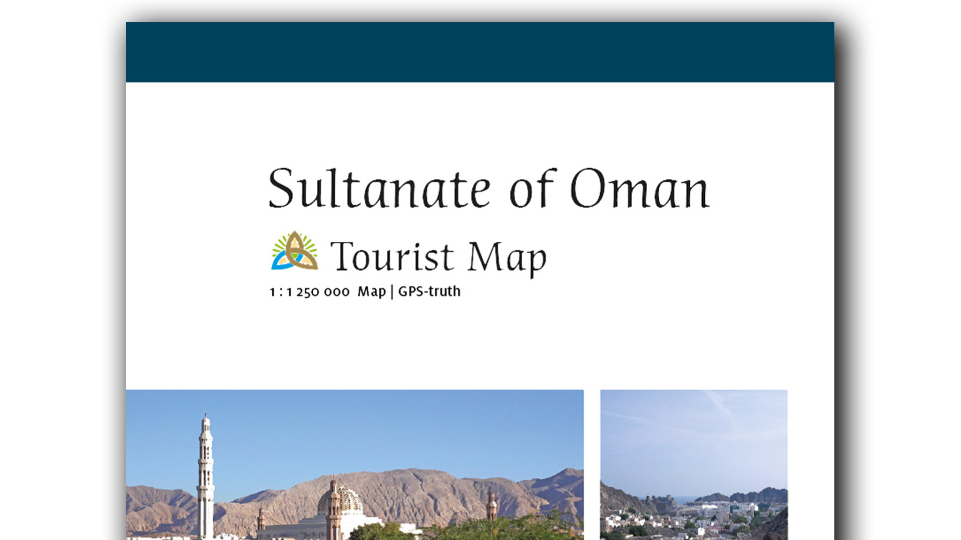 Oman Tourist Map